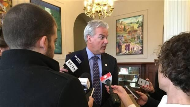Former Sherbrooke mayor Bernard Sévigny, pictured here in a file picture, heads the advisory committee tasked with rethinking Quebec police.