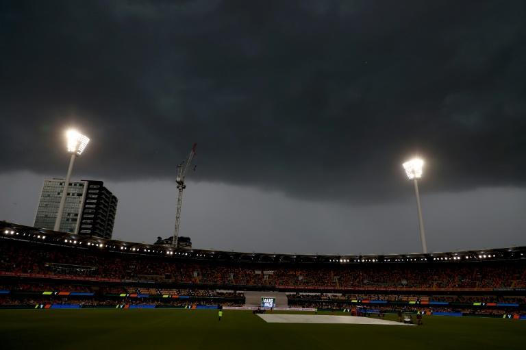 Rain forced an end to the second day's play at the Gabba, with the deciding fourth Test between Australia and India hanging in the balance