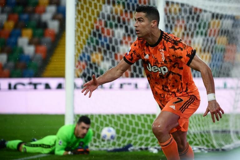 Cristiano Ronaldo's late strike handed Juventus a crucial win at Udinese in the fight for Champions League qualification