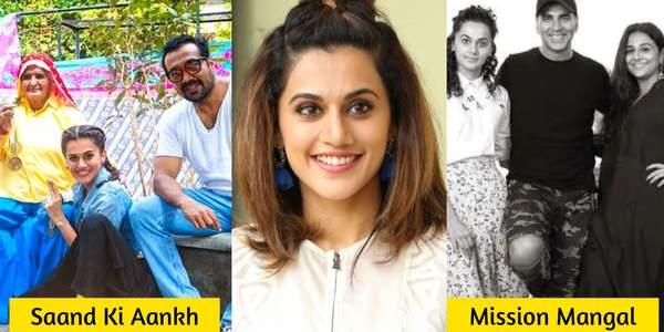 These Upcoming Films Of Taapsee Pannu Are Proof That She Is One Of The Busiest Stars Right Now!