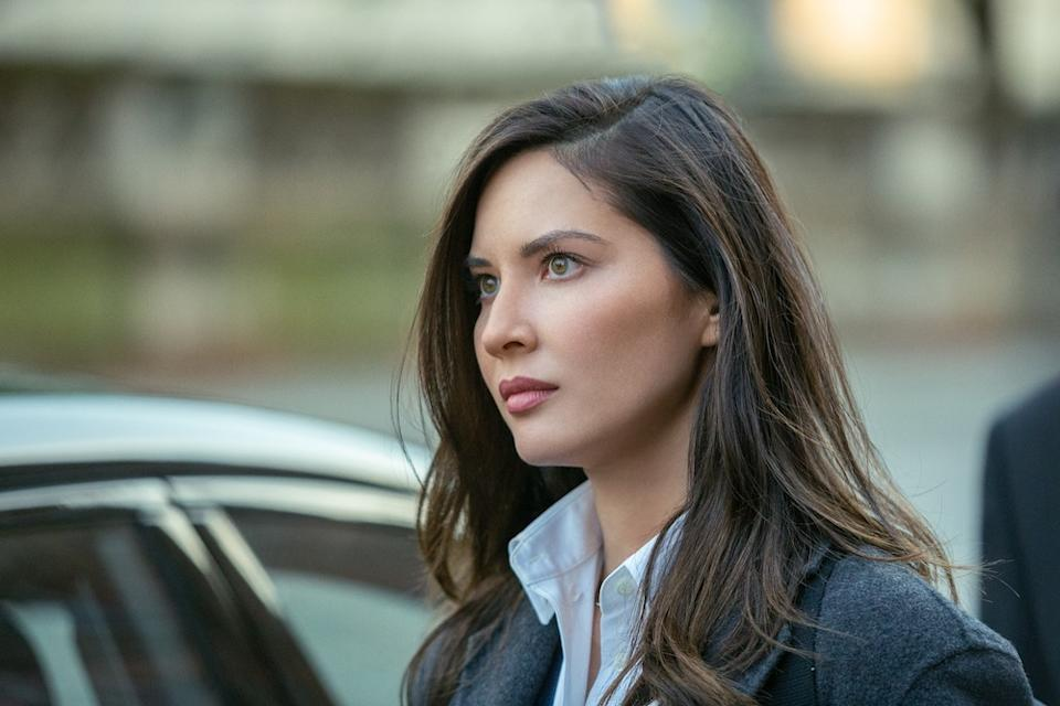 Olivia Munn plays Monica Reed on The Rook. (PHOTO: HBO)