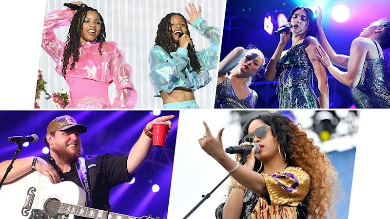 From Bebe Rexha to Dua Lipa, Greta Van Fleet to H.E.R., listen to all the burgeoning artists competing for the golden gramophone.