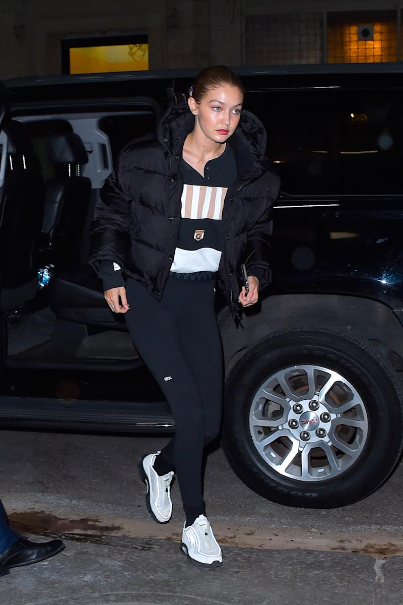 Gigi Hadid pictured in Manhattan on 5 November 5 2019. [Photo: Getty]