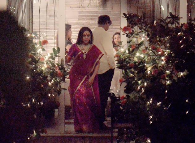 Rani Mukherjee celebrates Diwali with Aditya Chopra