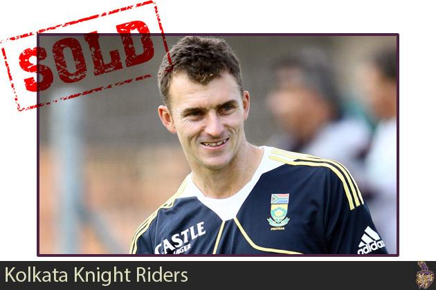 Ryan McLaren goes to Kolkata Knight Riders for $50,000