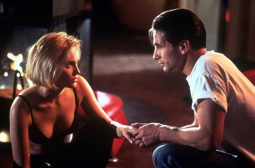 Billy Baldwin & Sharon Stone – 'Sliver' (1993) This shameless attempt to rekindle the erotic thrills of smash hit 'Basic Instinct' fell limp, thanks mainly to non-existent chemistry between stars Stone and Baldwin. Perhaps aware she was starring in a dud, the actress liked to emasculate Baldwin between takes to amuse herself; in one kissing scene, she bit his tongue so hard that his brother Alec probably felt it. Billy allegedly wasn't able to talk for a week afterwards, though unfortunately the film was able to be finished.