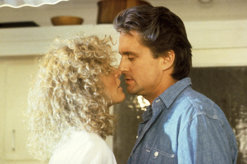 Glenn Close and Michael Douglas in 'Fatal Attraction' (Photo: Paramount/courtesy Everett Collection)