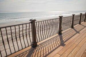 Compass Ironworks Railings Unfazed by Hurricane Sandy; Showcased at the Architectural Digest Home Design Show