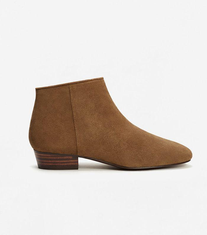 A staple pair of ankle boots is necessary for the fall.