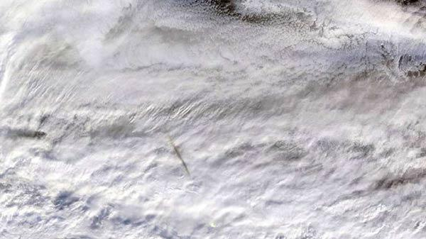 Giant Meteor Explosion Over Bering Sea: NASA Publishes Images