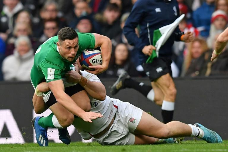 Ireland's John Cooney made three appearances off the bench earlier in the Six Nations