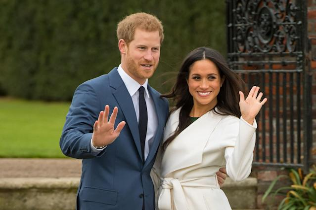Prince Harry and Meghan Markle are due to wed May 19. (Photo: PA)