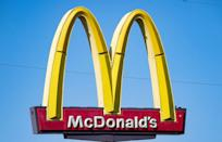 <p>The golden arches usually stay open on Christmas. Since each franchise is independently owned, you'll have to check with your local Mickey D's to see if you can stop by for some burgers and fries on Christmas Day.</p>