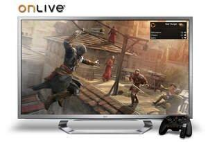OnLive Builds Console-Quality Gaming Into LG Google TVs, No Console Required