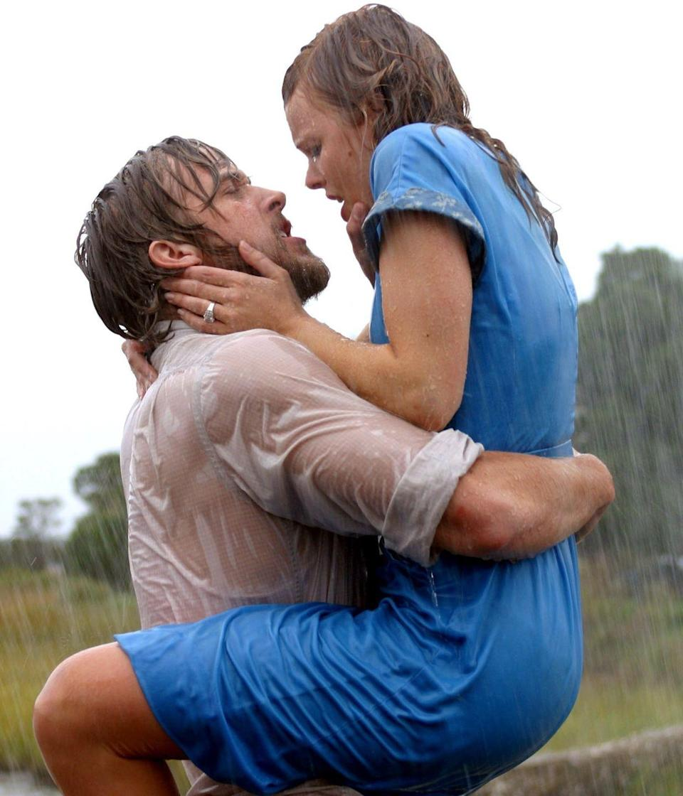 "<p><em>The Notebook</em> is based on a book by Nicolas Sparks, so you know that means there will be some tear-filled moments. It follows one couple across decades, from the '40s to the '00s, and the ups and downs of their relationship along the way.</p><p><a class=""link rapid-noclick-resp"" href=""https://www.netflix.com/title/60036227"" rel=""nofollow noopener"" target=""_blank"" data-ylk=""slk:WATCH NOW"">WATCH NOW</a></p>"