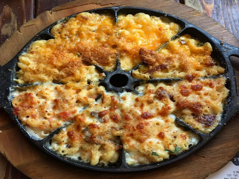 This Mac and Cheese Sampler Skillet Is the Stuff Dreams Are Made Of