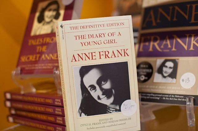 Anne Frank died in the Nazi concentration camp of Bergen-Belsen in 1945 (AFP Photo/Andrew Burton)