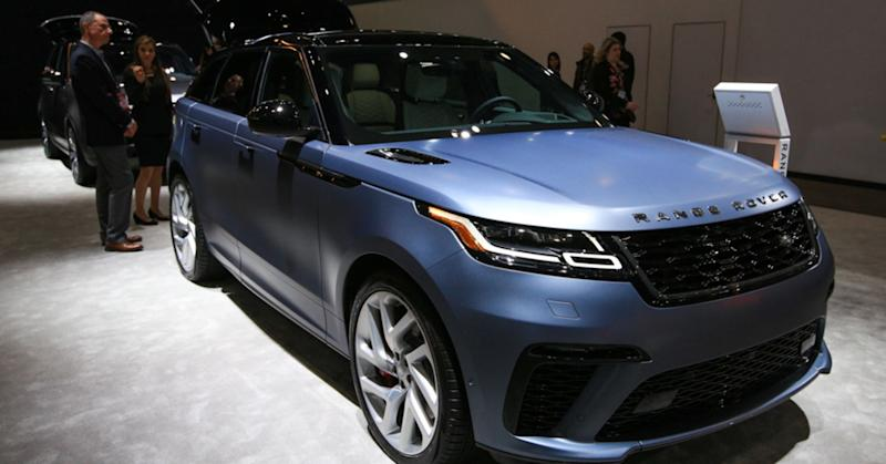 Land Rover's new lineup has some of the world's fastest SUVs, including the new Range Rover Velar