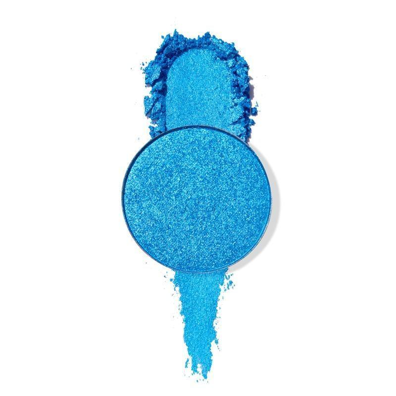 <p>Lastly, find some bold pink and blue eye colors like the <span>ColourPop Tide Pool Metallic Blue Eyeshadow</span> ($5) and <span>Colourpop Solstice with the Mostest Metallic Pink Eyeshadow</span> ($5) to mimic the character's mismatched eye makeup.</p>