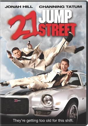 21 Jump Street DVD Box Art