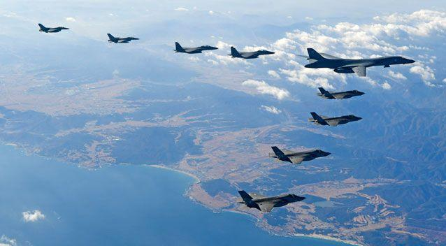 The rogue nation has continued to lash out at a massive joint military exercise between the United States and South Korea. Photo: AAP