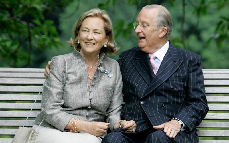King Albert II, seen here withQueen Paola, said the process had not respected the private lives of all involved - AP