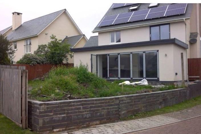 Matthew Williams has managed to secure planning permission for his raised garden despite neighbours' objections. (Wales News)