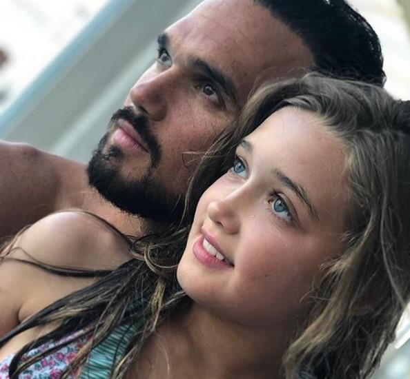 Gareth Gates took to Instagram earlier this week to share a rare picture of himself and eight-year-old daughter, Missy (Gareth Gates/Instagram)