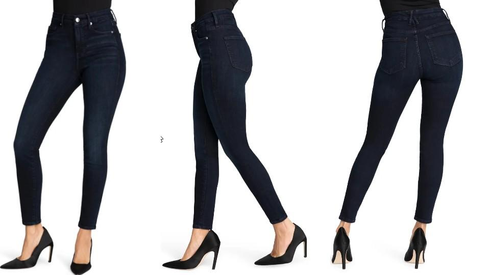 Good American Good Legs High Waist Skinny Jeans - Nordstrom, $74 (originally $99)