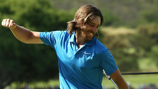 Tommy Fleetwood sparkled in Sun City with a magnificent final round and held his nerve in a play-off to claim a fifth European Tour title.