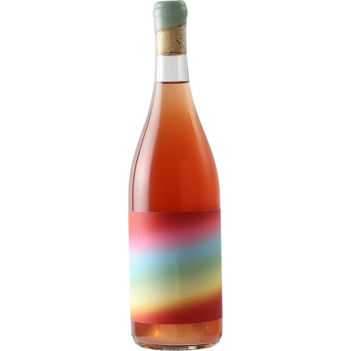 """Superbloom is a wine energetic enough to match its groovy, rainbow-haze label. It's a co-ferment of red and white Rhône varieties, made using minimal intervention. The result is at once spicy and complex with a minerally, refreshing finish. While some rosés live happily in leisurely afternoon lunch territory, this one is very much a star dinner wine. """"Superbloom is named after the wildflowers that erupt in the desert after a wetter-than-normal rainy season,"""" according to winery Las Jaras. """"They're a sign that winter is over and warmer, happier days are ahead."""" We'll drink to that. $30, Verve Wine. <a href=""""https://vervewine.com/collections/rose-wine/products/las-jaras-proprietary-blend-superbloom-california-2020"""" rel=""""nofollow noopener"""" target=""""_blank"""" data-ylk=""""slk:Get it now!"""" class=""""link rapid-noclick-resp"""">Get it now!</a>"""