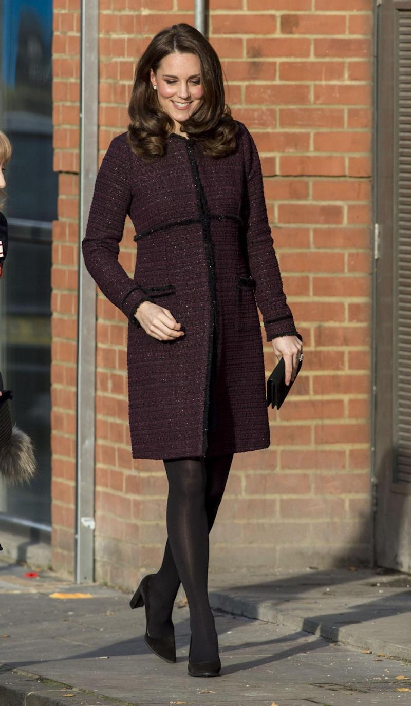 Kate Middleton has recycled her maternity wear. Photo: Getty Images