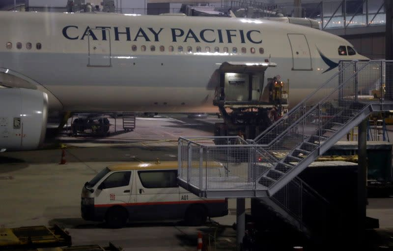 Cathay Pacific loses money, flags 'very bleak' outlook