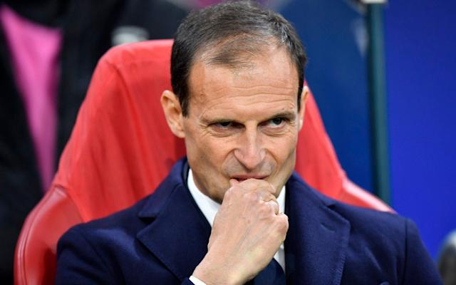 Massimiliano Allegri has won Serie A title in each of his five seasons in charge of Juventus - AP