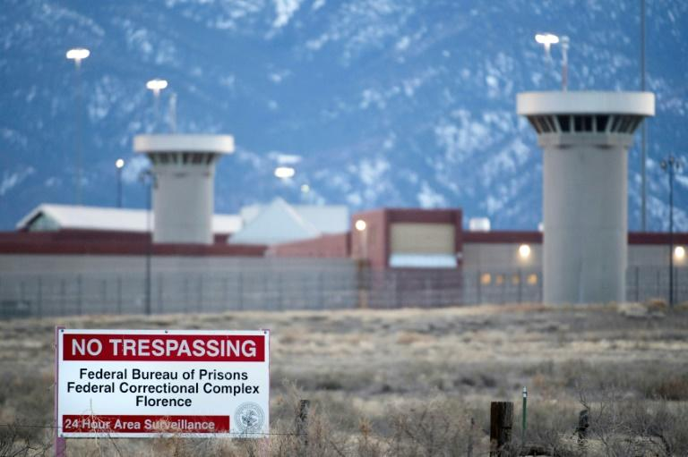 "El Chapo will serve his sentence at the Administrative Maximum Facility (ADX) prison in Florence, Colorado -- known as the ""Alcatraz of the Rockies"" (AFP Photo/Jason Connolly)"