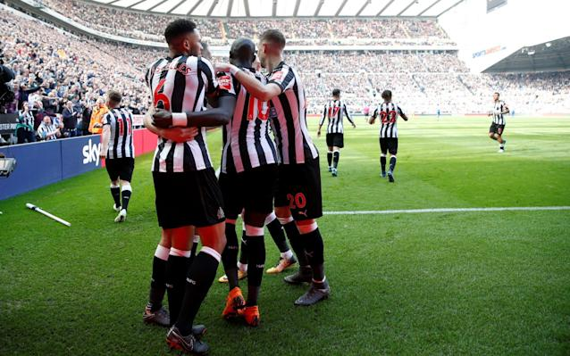 Arsenal were beaten by Newcastle United at St. James Park - REUTERS