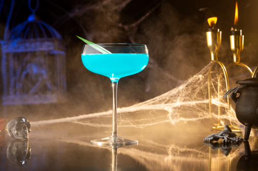 <p><strong>Ingredients</strong></p><p>1 oz Bombay Sapphire Gin<br>.5 oz Blue Curacao<br>.5 oz Lillet Blanc<br>.5 oz fresh lemon juice<br>.5 oz pineapple juice <br>Absinthe rinse</p><p><strong>Instructions</strong></p><p>Rinse your chilled coupe or martini glass with some absinthe. Shake all remaining ingredients together and strain into your rinsed coupe or martini glass. Garnish with a pineapple leaf </p>