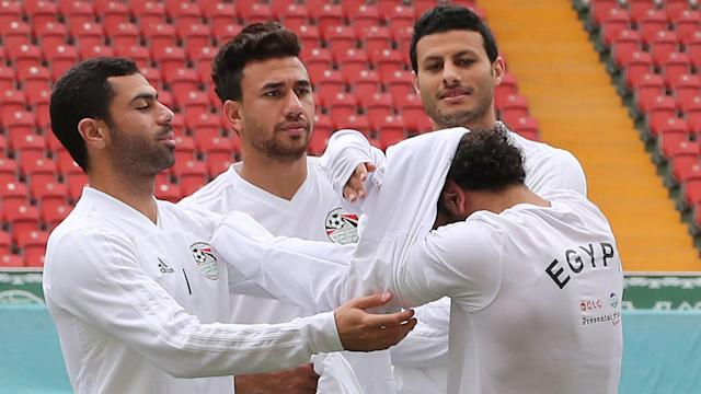 """The Egyptian Football Association said that their star attacker could have lined up against Uruguay but """"the coach did not want to take the risk"""""""