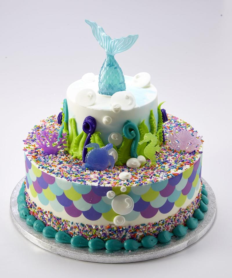 Pleasing You Can Get A 3 Tier Mermaid Cake At Sams Club For Less Than 70 Funny Birthday Cards Online Alyptdamsfinfo