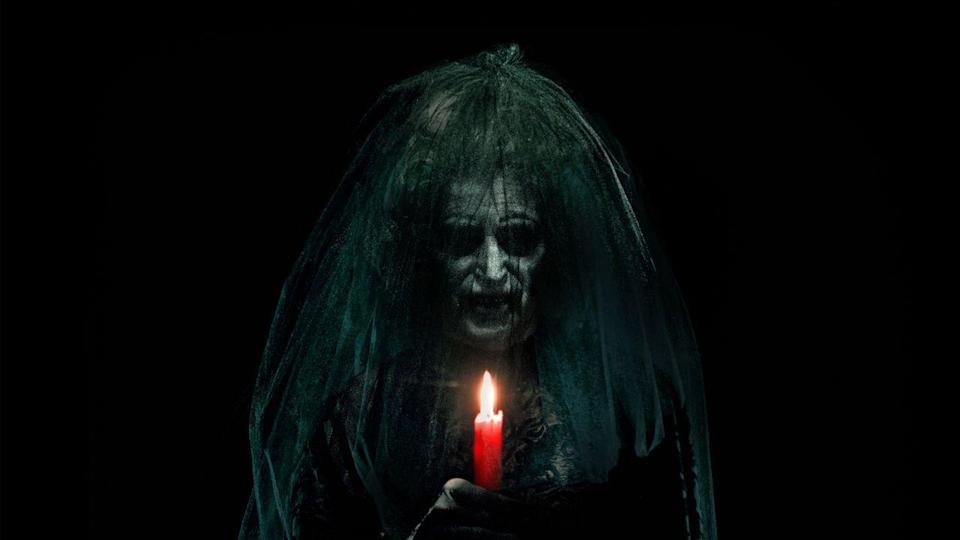 """<p>Alas, sometimes it's not your location that's haunted. In <em>Insidious, </em> a family (headed by Patrick Wilson and Rose Byrne) realizes their eldest son is the one they should fear. </p><p><a class=""""link rapid-noclick-resp"""" href=""""https://www.netflix.com/title/70142542"""" rel=""""nofollow noopener"""" target=""""_blank"""" data-ylk=""""slk:STREAM NOW"""">STREAM NOW</a> </p>"""