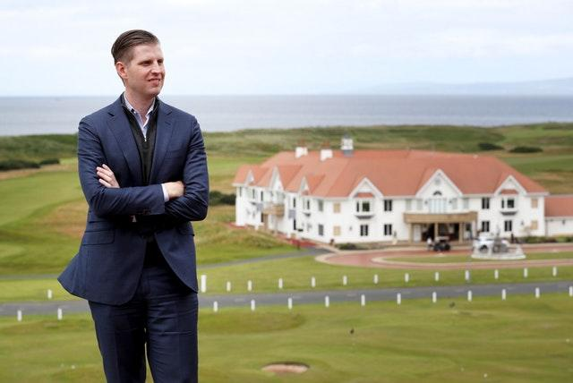 Donald Trump's flagship Scottish resort lost millions previous year