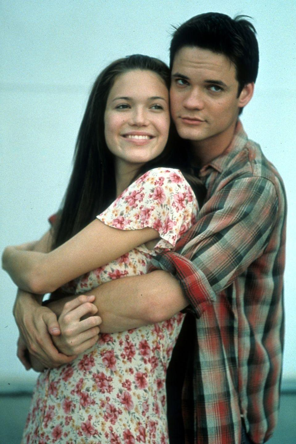 <p>One glance at this photo, and I already have tears in my eyes. Before <em>A </em><em>Walk to Remember</em>, Shane West had a bunch of small TV roles, but his role as the bad-boy-turned-good-guy Landon West captured our hearts. </p>