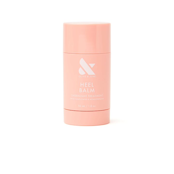 """<h2>Olive & June Heel Balm</h2><br>Sometimes moisturizing your feet means having to deal with greasy, goopy hands afterward, but this balm stick solves that problem. The sunflower- and meadowfoam-infused formula deeply moisturizes and hydrates the driest of skin and allows precise application so you don't have to fuss with sticky hands afterward.<br><br><strong>Olive & June</strong> Heel Balm, $, available at <a href=""""https://go.skimresources.com/?id=30283X879131&url=https%3A%2F%2Foliveandjune.com%2Fproducts%2Fheel-balm%3Fvariant%3D32268423626794%26currency%3DUSD%26utm_medium%3Dproduct_sync%26utm_source%3Dgoogle%26utm_content%3Dsag_organic%26utm_campaign%3Dsag_organic%26gclid%3DCj0KCQjwo-aCBhC-ARIsAAkNQiuExwmvluOXkLDWpDLcGxRsKchpSw9auy4NV0QXyfSE2HM88MdBvecaArheEALw_wcB"""" rel=""""nofollow noopener"""" target=""""_blank"""" data-ylk=""""slk:Olive & June"""" class=""""link rapid-noclick-resp"""">Olive & June</a>"""