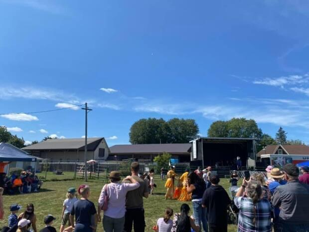 A letter from theOutaouais public health unit says there were two confirmed casesof COVID-19 connected to the fair on Sept. 4. (Shawville Fair/Facebook - image credit)