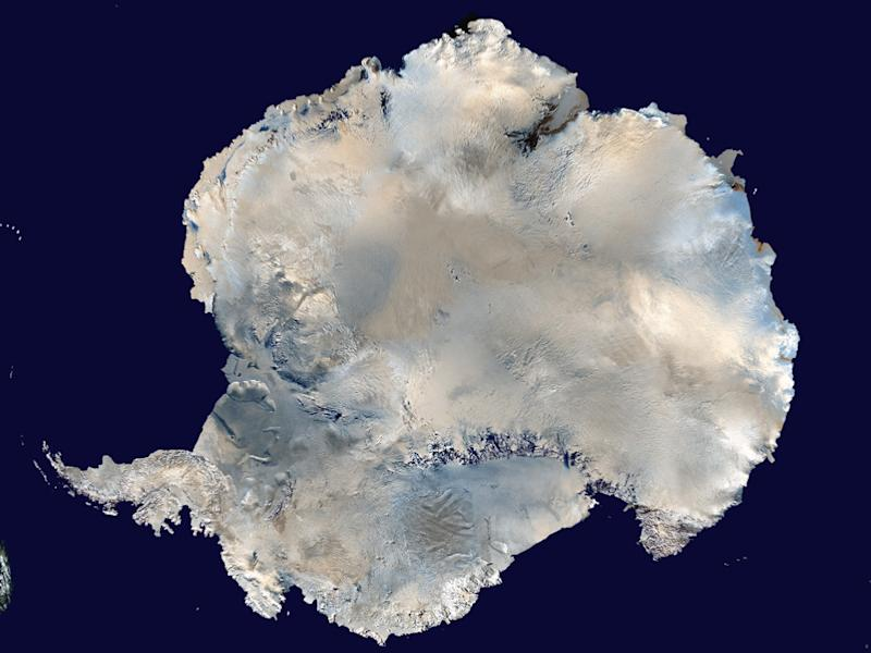 Antarctica is pictured in this undated image courtesy of NASA. Scientists found that a high ridge in the East Antarctic Plateau contains pockets of trapped air that dipped as low as minus 136 Fahrenheit (minus 93 degrees Celsius) on August 10, 2010, researchers said at the American Geophysical Union meeting in San Francisco on December 9, 2013. REUTERS/NASA/Handout via Reuters (ANTARCTICA - Tags: ENVIRONMENT) FOR EDITORIAL USE ONLY. NOT FOR SALE FOR MARKETING OR ADVERTISING CAMPAIGNS. THIS IMAGE HAS BEEN SUPPLIED BY A THIRD PARTY. IT IS DISTRIBUTED, EXACTLY AS RECEIVED BY REUTERS, AS A SERVICE TO CLIENTS