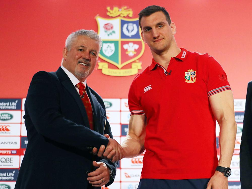 Warren Gatland has revealed his 41-man squad for the tour of New Zealand: Getty