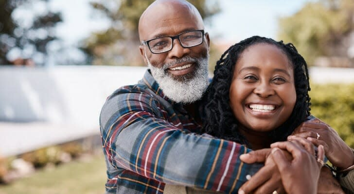 Retired African American couple
