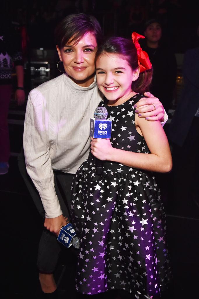 She may be a Cruise, but Suri is 100 per cent Katie's twin. <em>(Image via Getty Images)</em>