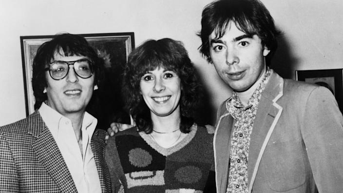 Don Black, Marti Webb and Andrew Lloyd Webber worked together on the original Tell Me On A Sunday