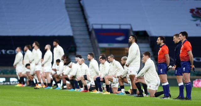 England players are given the individual choice of whether to take the knee